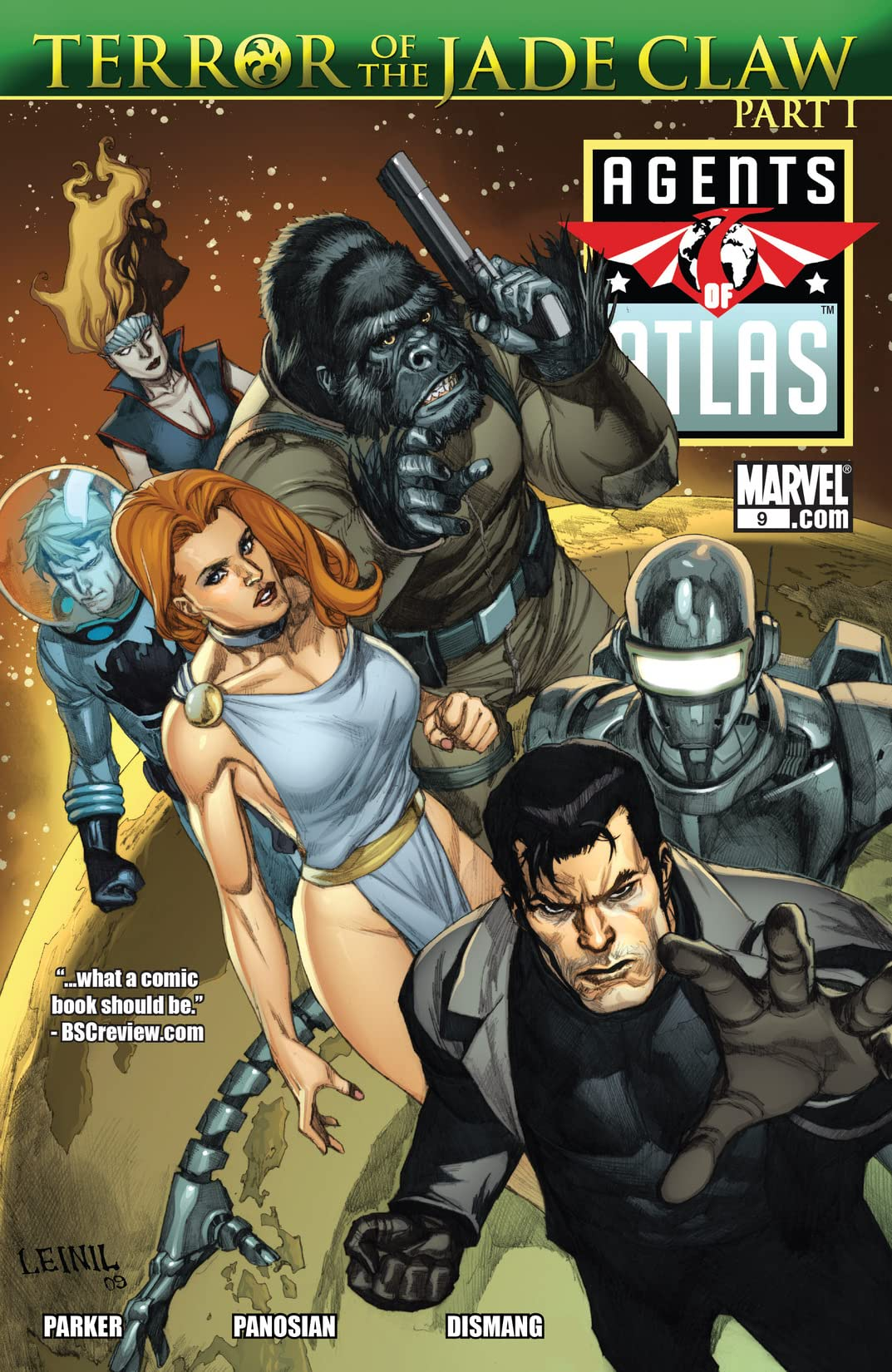 Agents of Atlas (2009) #9