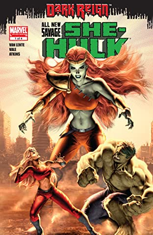 All-New Savage She-Hulk (2009) #1 (of 4)