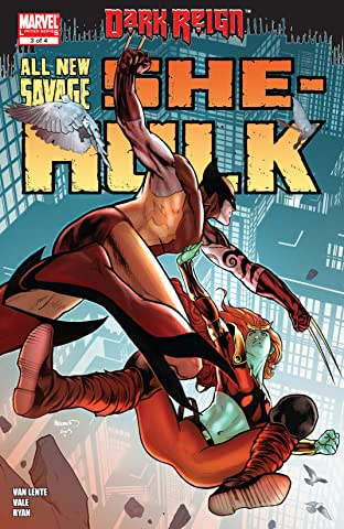 All-New Savage She-Hulk (2009) #3 (of 4)