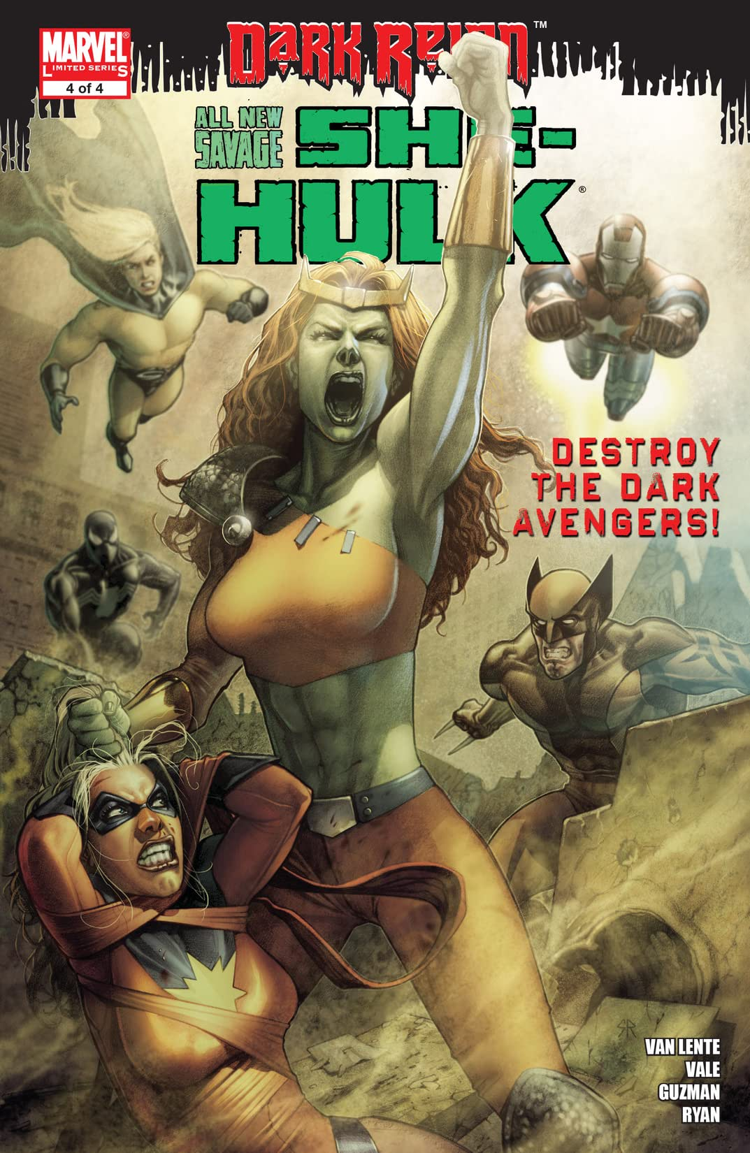 All-New Savage She-Hulk (2009) #4 (of 4)