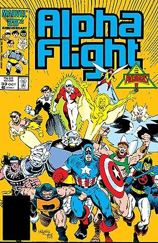 Alpha Flight (1983-1994) #39