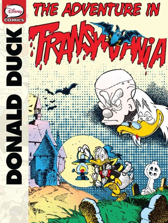 Donald Duck and the Adventure in Transylvania