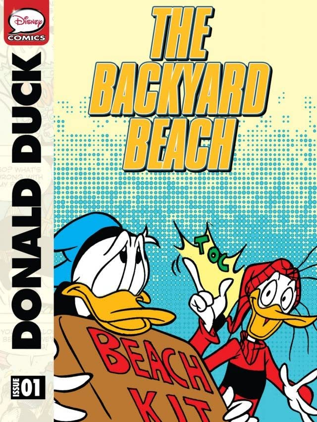 Donald Duck and the Backyard Beach
