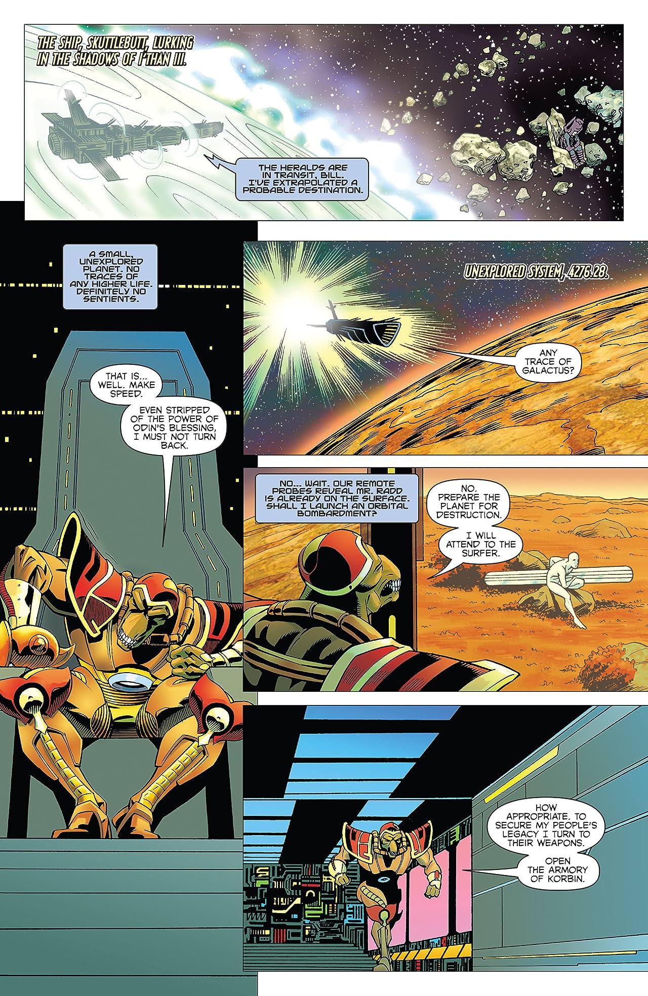 Beta Ray Bill: Godhunter (2009) #3 (of 3)