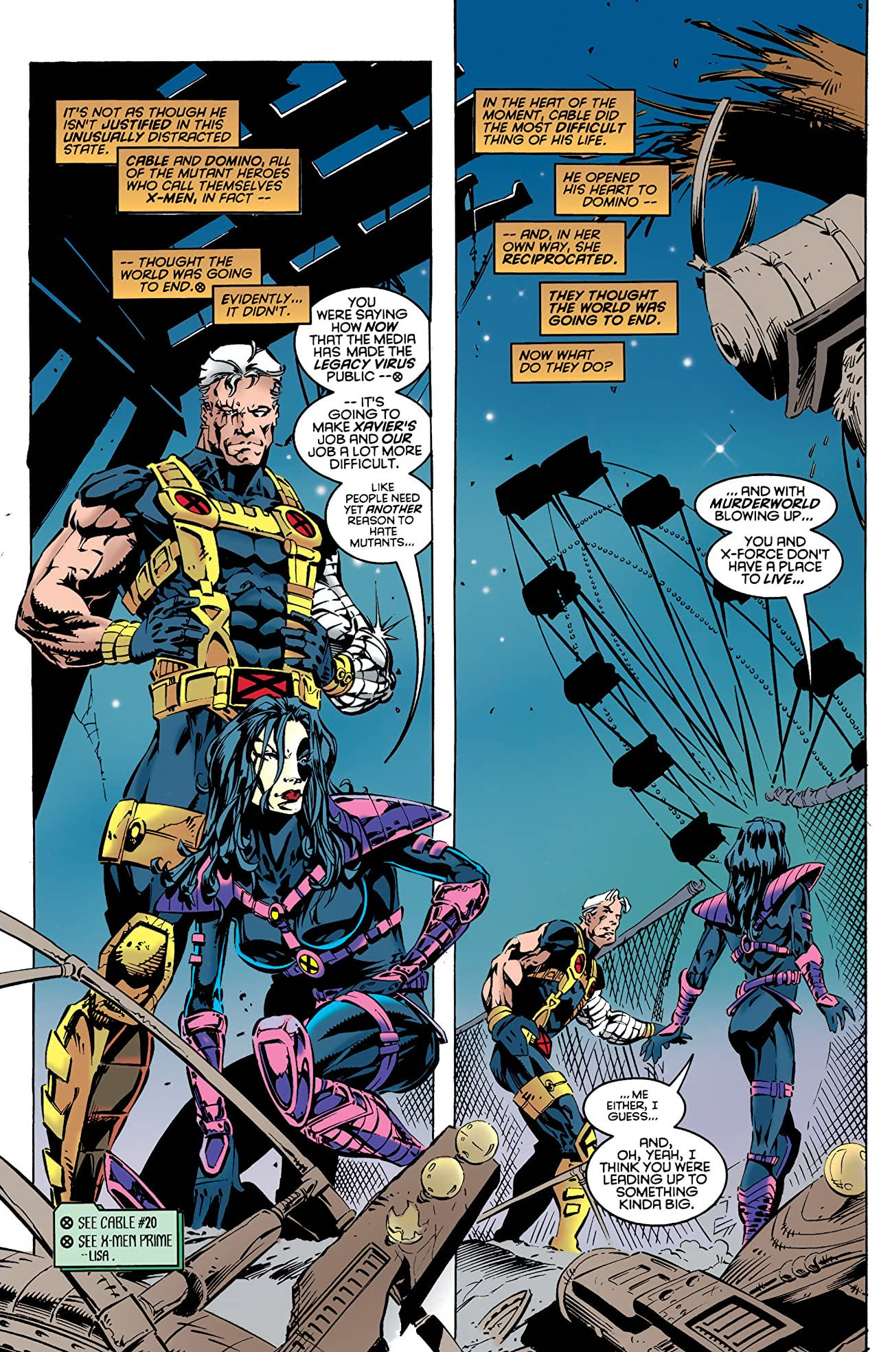 Cable (1993-2002) #21