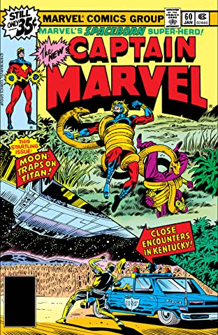 Captain Marvel (1968-1979) No.60