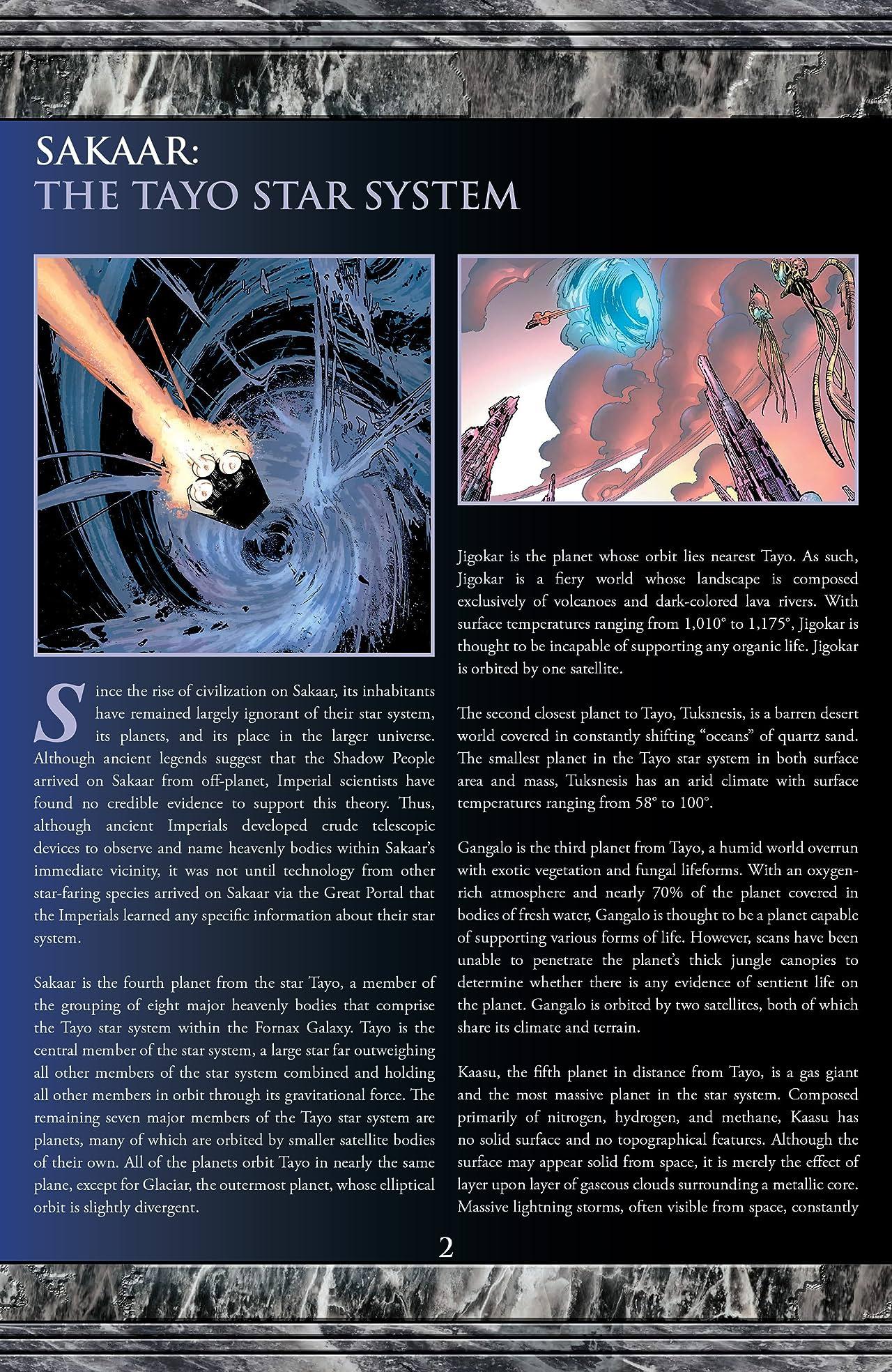 Planet Hulk: Gladiator Guidebook (2006) #1