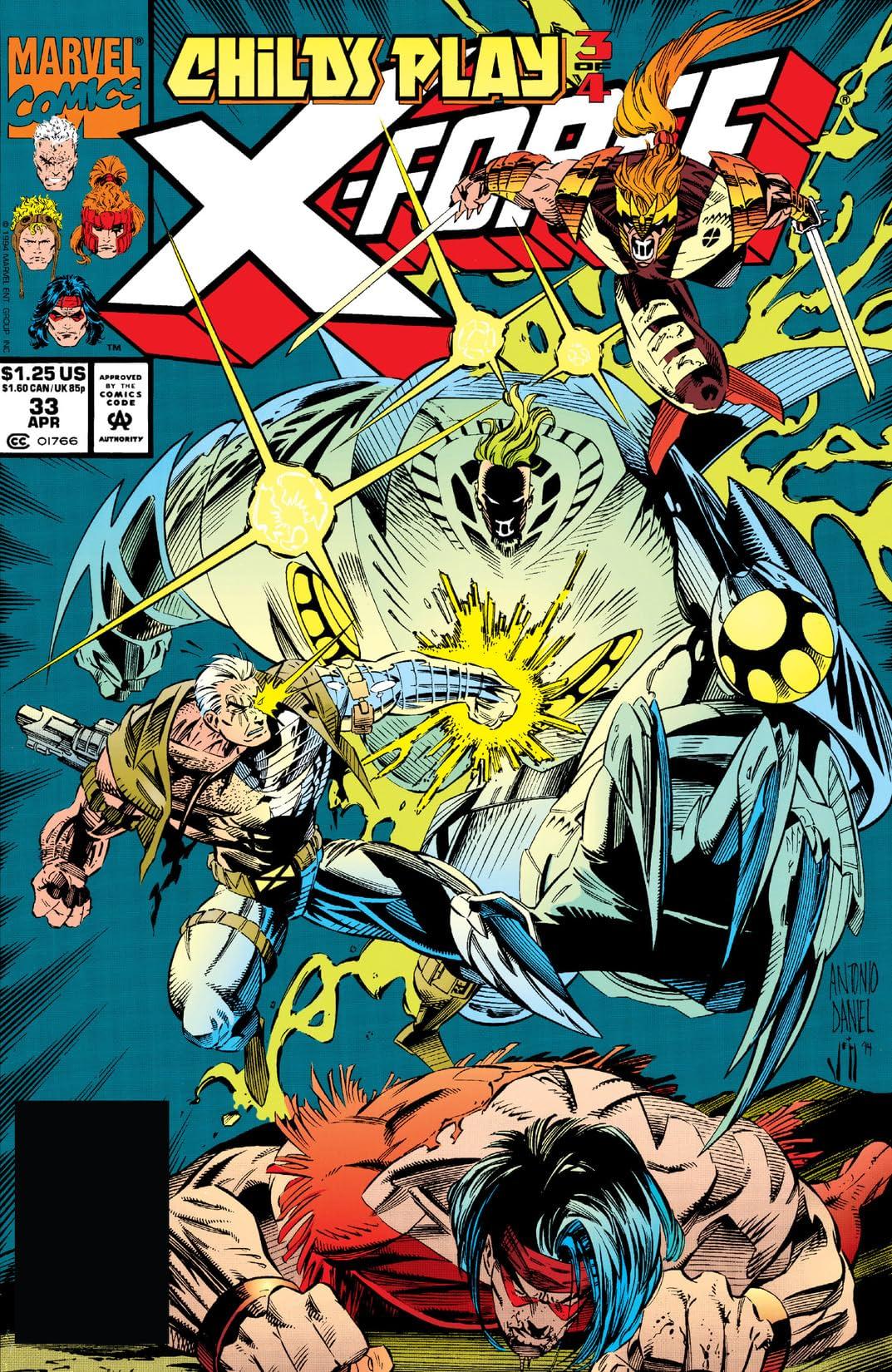 X-Force (1991-2002) #33