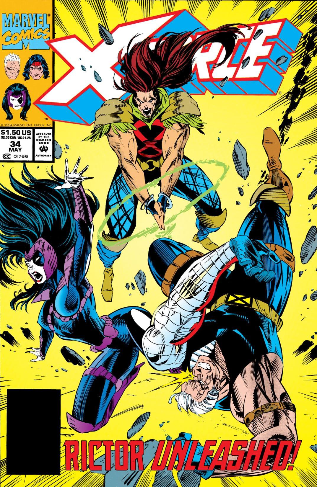X-Force (1991-2002) #34