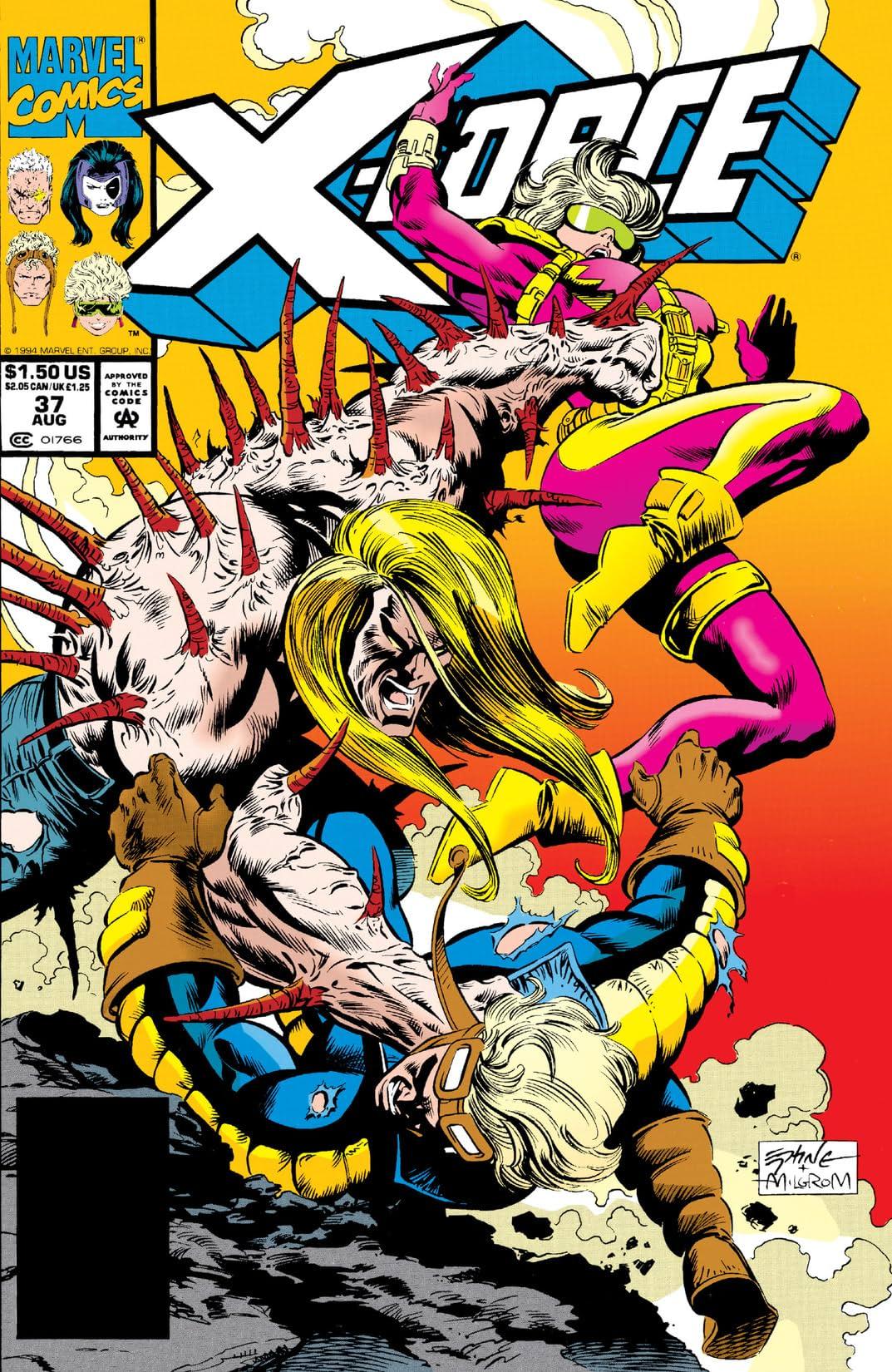 X-Force (1991-2002) #37