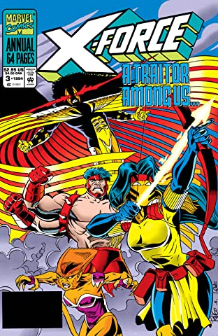 X-Force (1991-2002) Annual #3