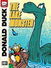 Donald Duck and the Lake Monster