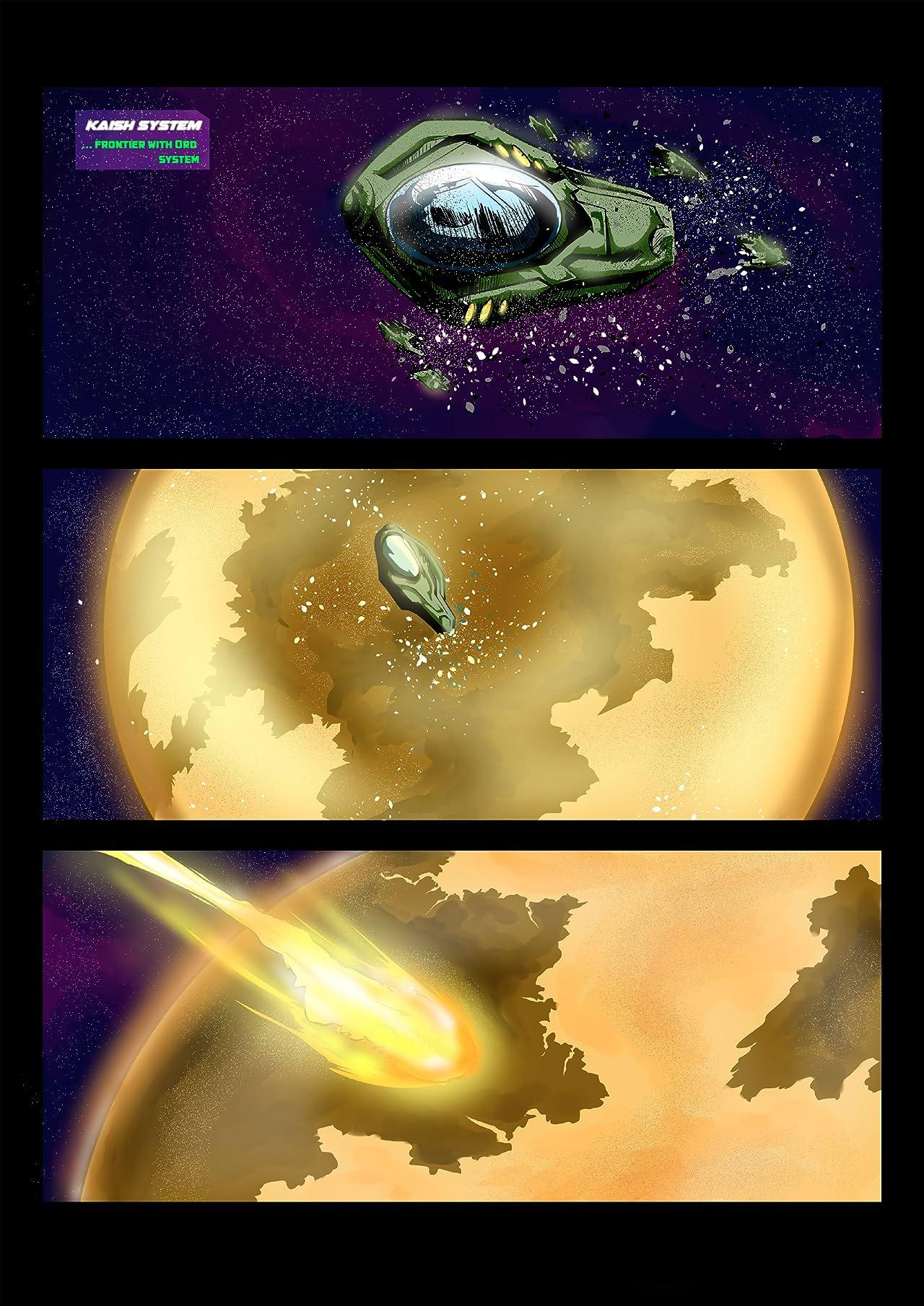 Indigo Horizon #1
