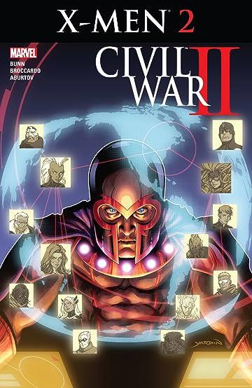 Civil War II: X-Men (2016) #2 (of 4)