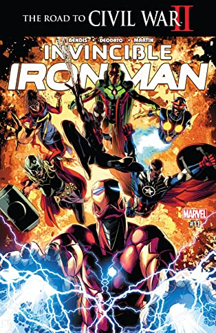 Invincible Iron Man (2015-2016) #11