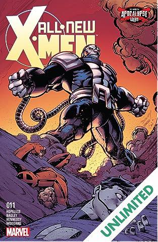 All-New X-Men (2015-2017) #11