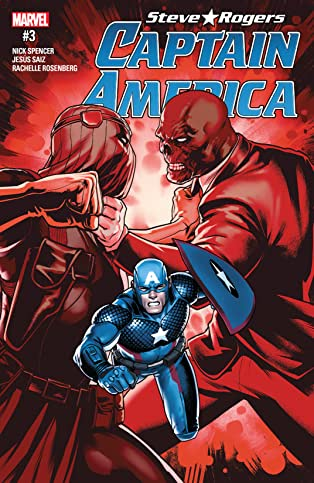 Captain America: Steve Rogers (2016-2017) #3