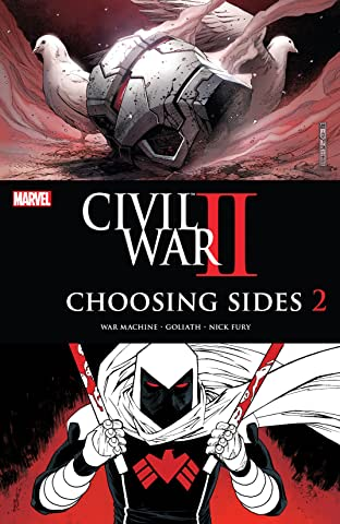 Civil War II: Choosing Sides (2016) No.2 (sur 6)