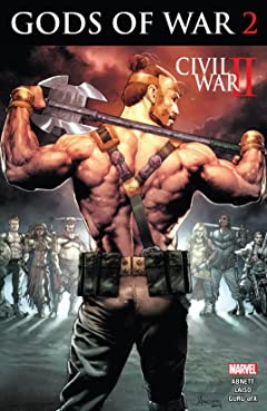 Civil War II: Gods of War (2016) #2 (of 4)