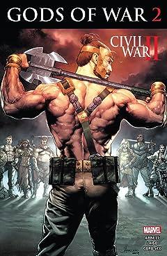 Civil War II: Gods of War (2016) #2 (of 4)