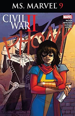Ms. Marvel (2015-) #9