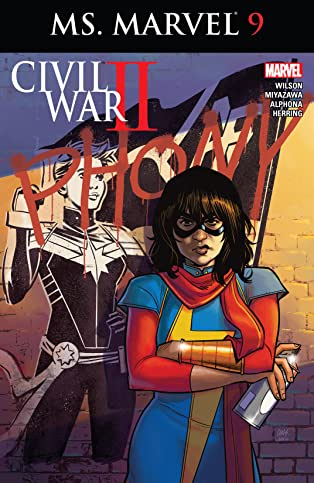 Ms. Marvel (2015-2019) #9