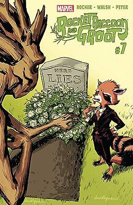 Rocket Raccoon and Groot (2016) #7