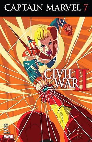Captain Marvel (2016) No.7