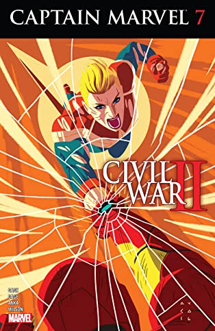 Captain Marvel (2016-) #7
