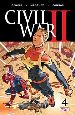 Civil War II (2016) No.4 (sur 8)