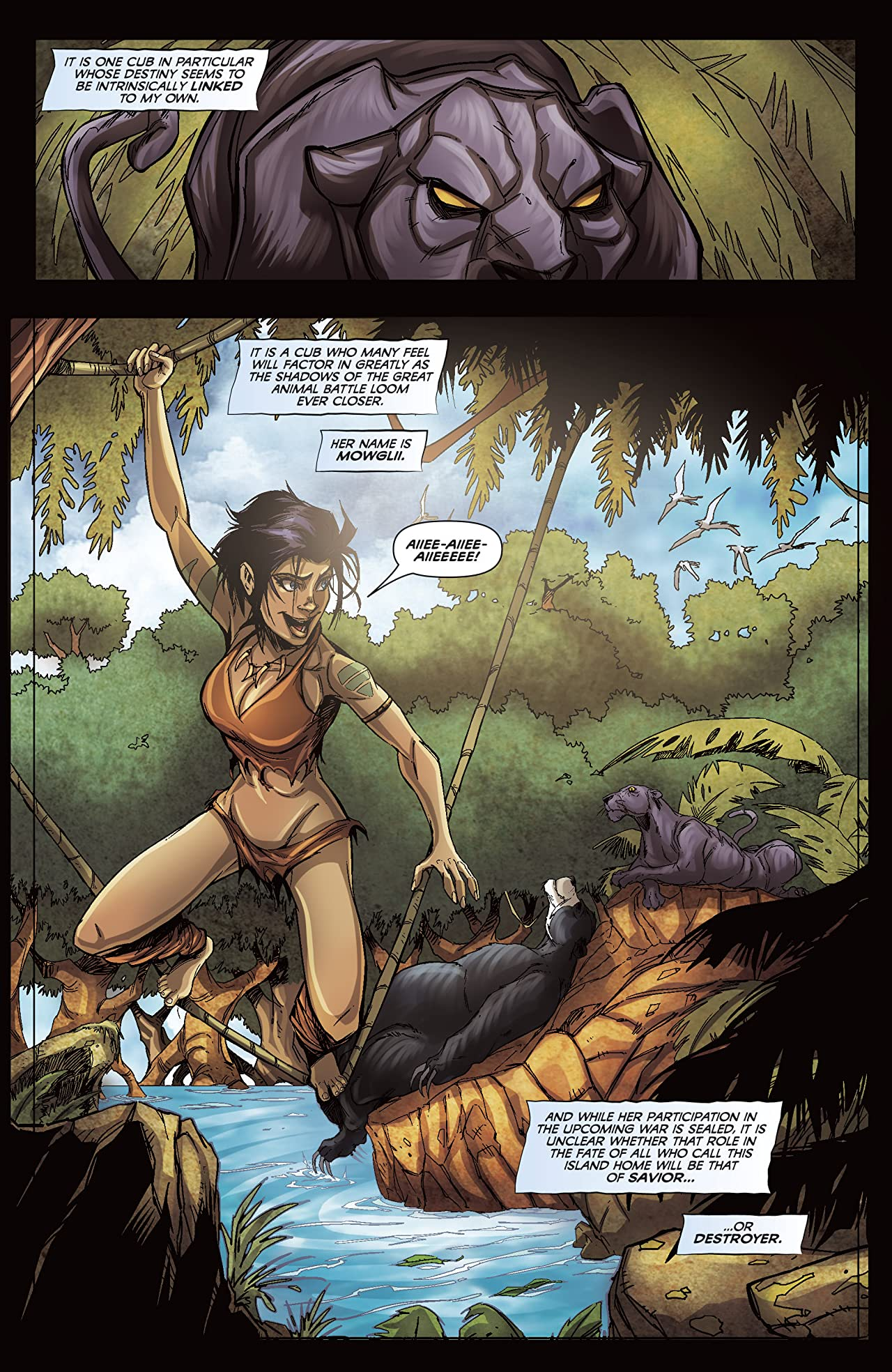 The Jungle Book: Last of the Species #1 (of 5)