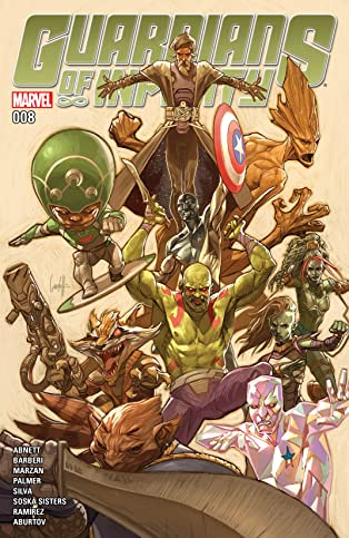 Guardians of Infinity (2015-2016) #8