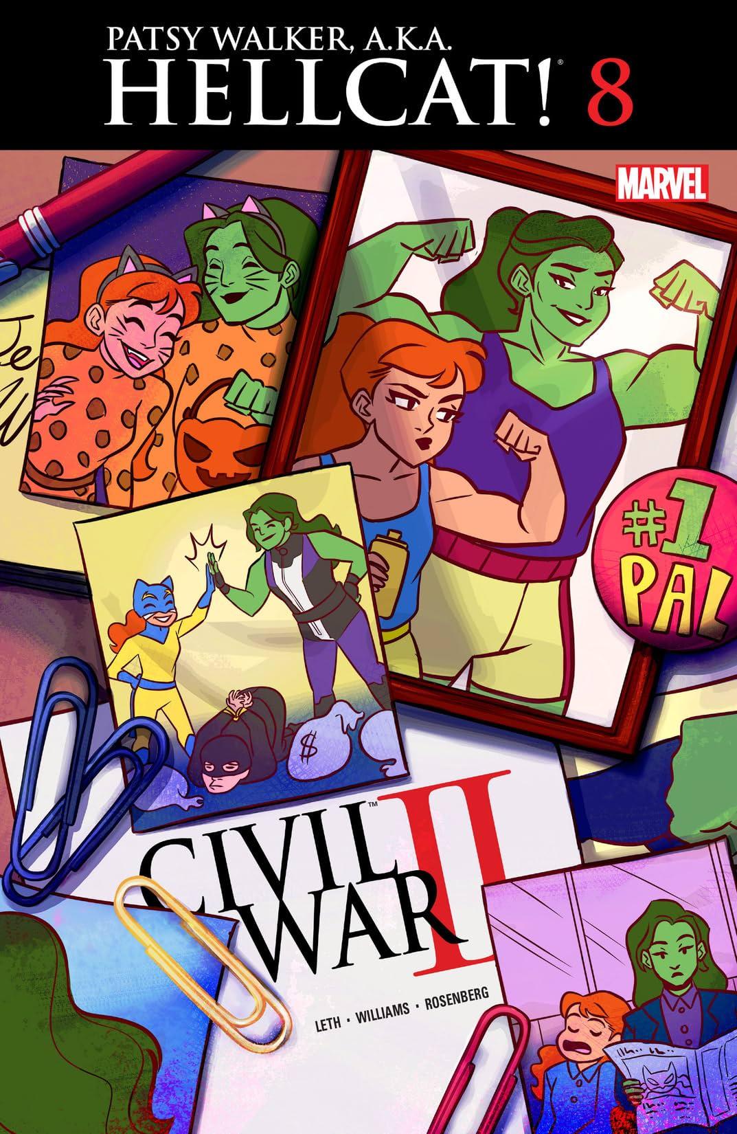 Patsy Walker, A.K.A. Hellcat! (2015-2017) #8