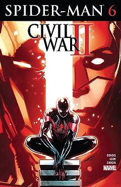 Spider-Man (2016-2018) No.6