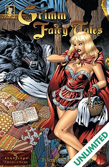 Grimms fairy tales adult comic