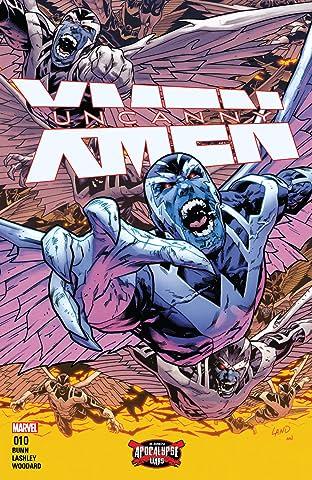 Uncanny X-Men (2016-) #10