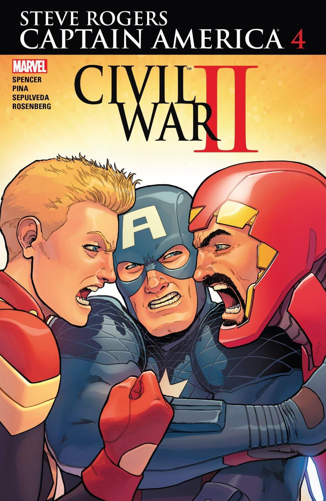 Captain America: Steve Rogers (2016-2017) #4