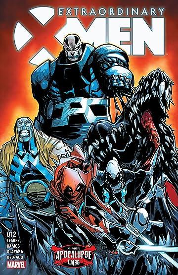 Extraordinary X-Men (2015-2017) #12