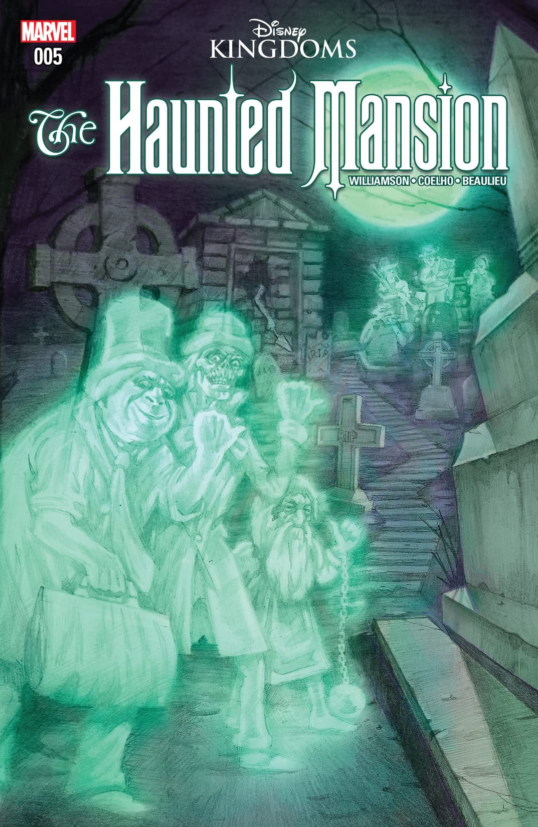 Haunted Mansion (2016) #5 (of 5)