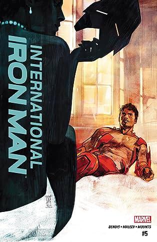 International Iron Man (2016) #5