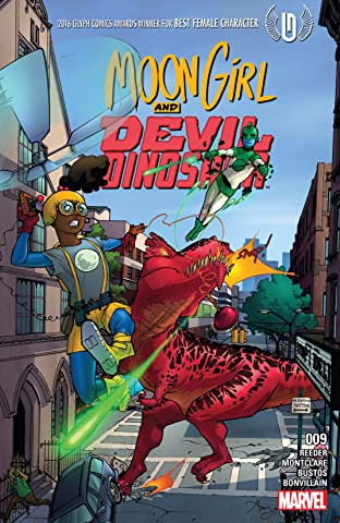 Moon Girl and Devil Dinosaur (2015-) #9