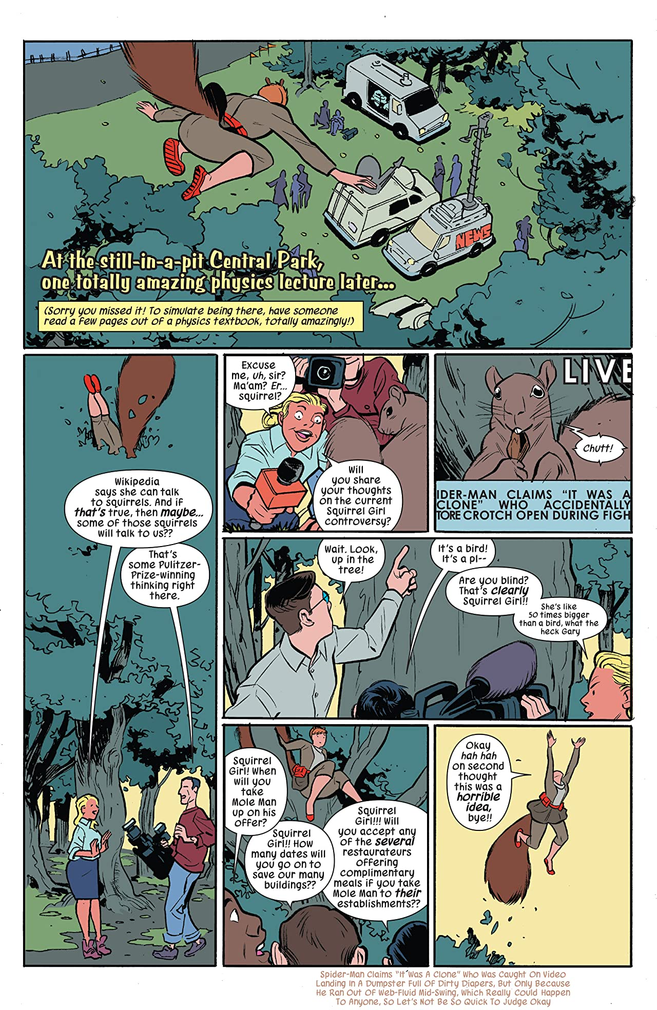 The Unbeatable Squirrel Girl (2015-2019) #10