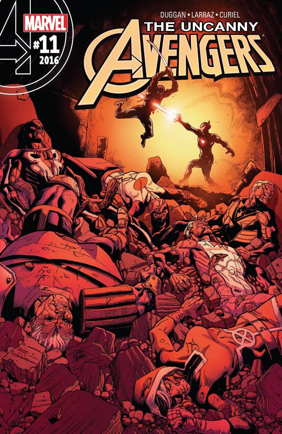 Uncanny Avengers (2015-2017) #11