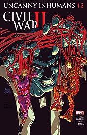 Uncanny Inhumans (2015-2017) #12