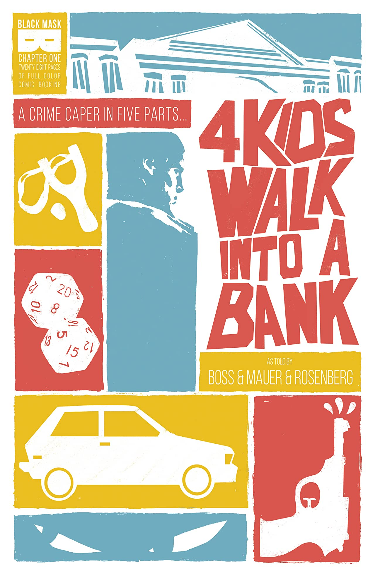 4 Kids Walk Into A Bank #1