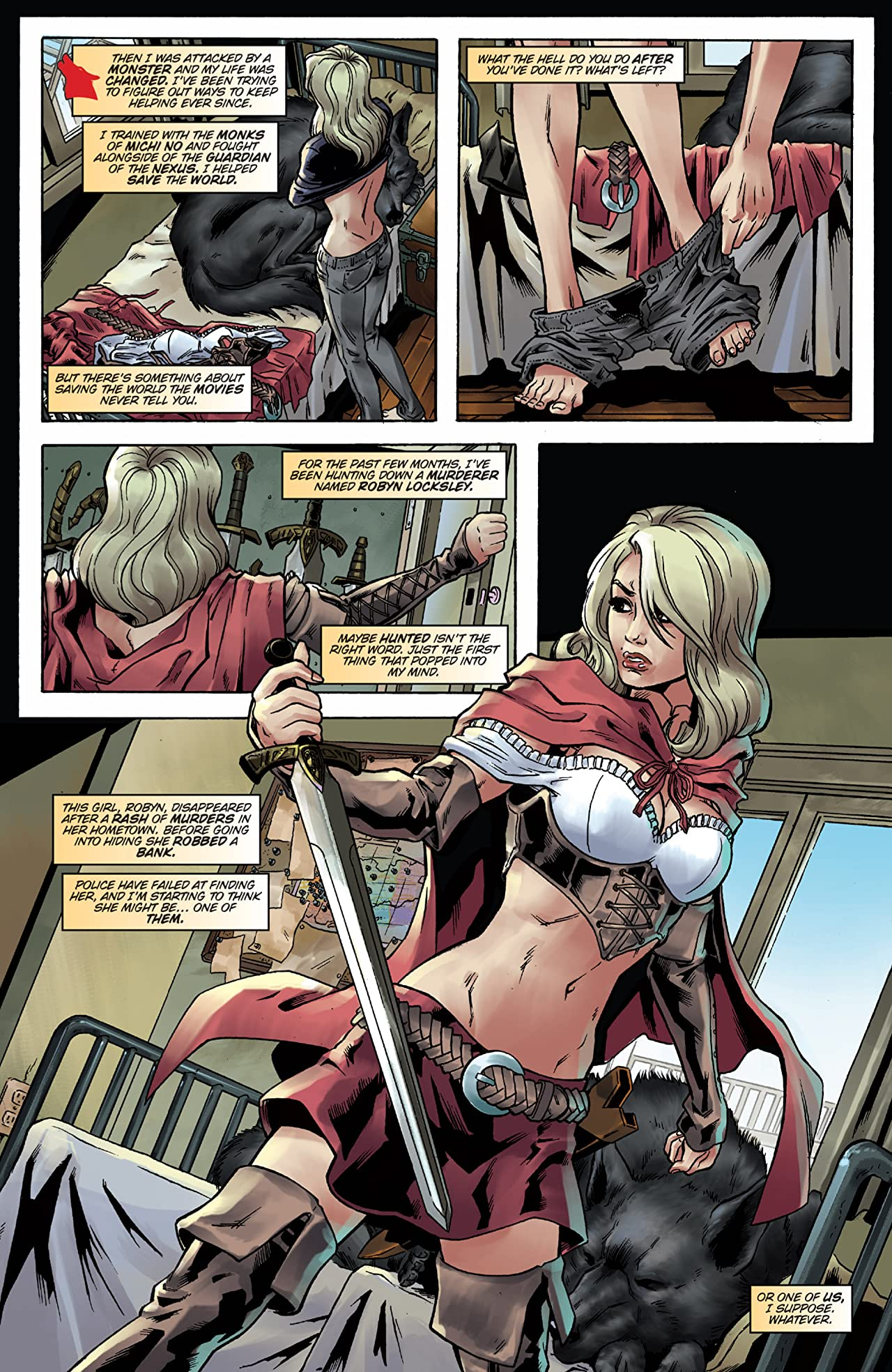 Robyn Hood vs. Red Riding Hood