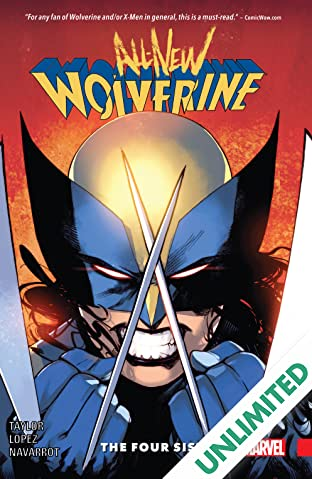 All-New Wolverine COMIC_VOLUME_ABBREVIATION 1: The Four Sisters
