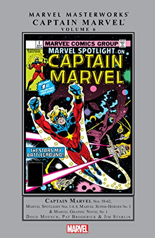 Captain Marvel Masterworks Tome 6