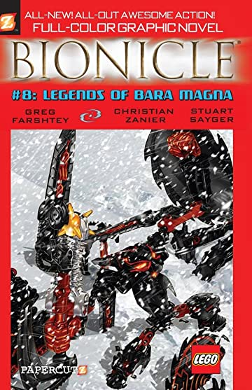 Bionicle Vol. 8: Legends of Bara Magna Preview