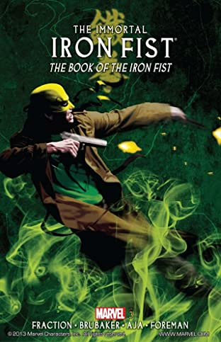 Immortal Iron Fist Tome 3: Book of the Iron Fist